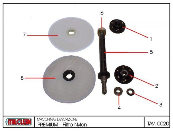Ecologic Filter Disc