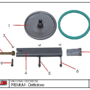 Still Door Gasket P300