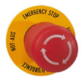 E- Stop (Emergency Stop) Button