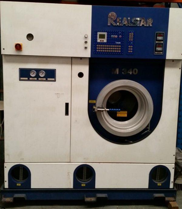 PRELOVED REALSTAR M340 18KG DRY CLEANING MACHINE