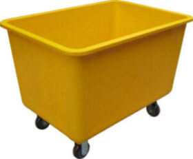 Plastic Orange Trolley