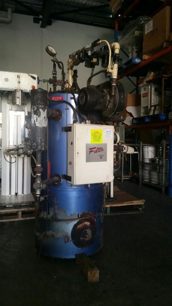 PRELOVED FULTON 6HP GAS FIRED STEAM BOILER