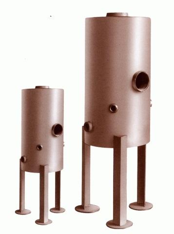 Boiler Feedwater and Blowdown Tanks
