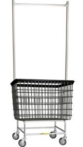 Trolley Basket With Large Rack