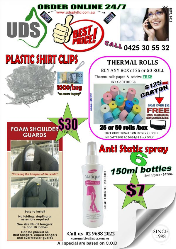 Our Customers Flyer for Queensland