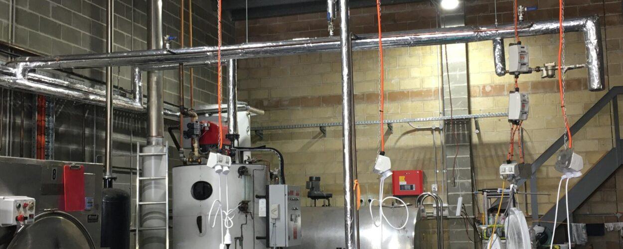 Jamisontown Steam Installation
