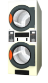 Commercial Dryers - Double Stack